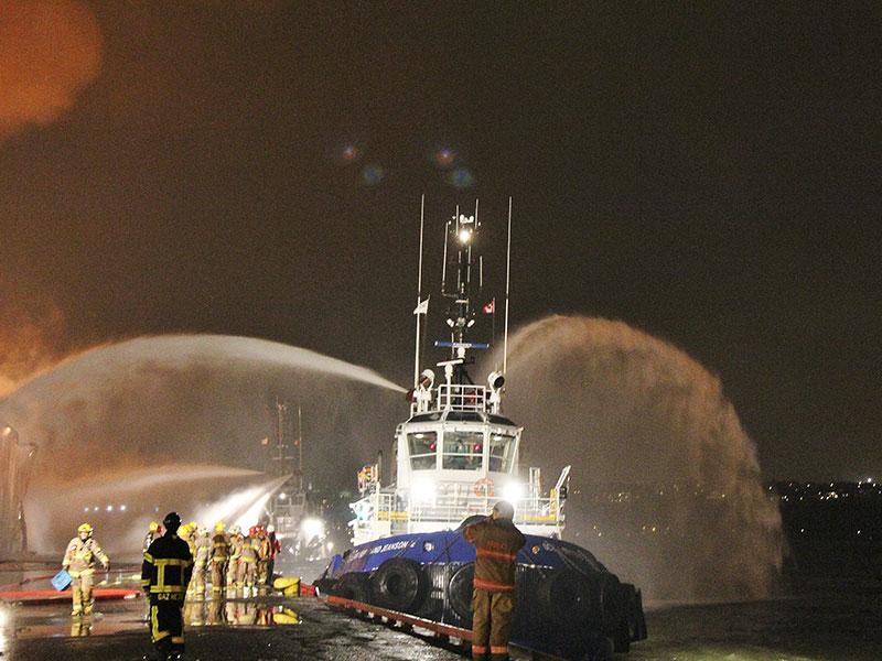 Groupe-Ocean-Combat-Incendie-Port-Quebec-2