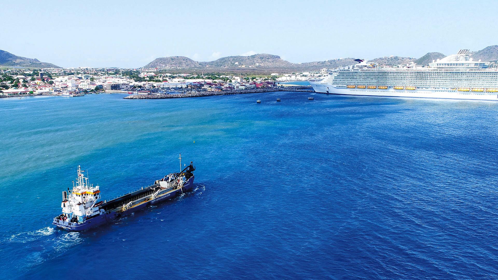 Océan parle du dragage dans le Caribbean Maritime Magazine
