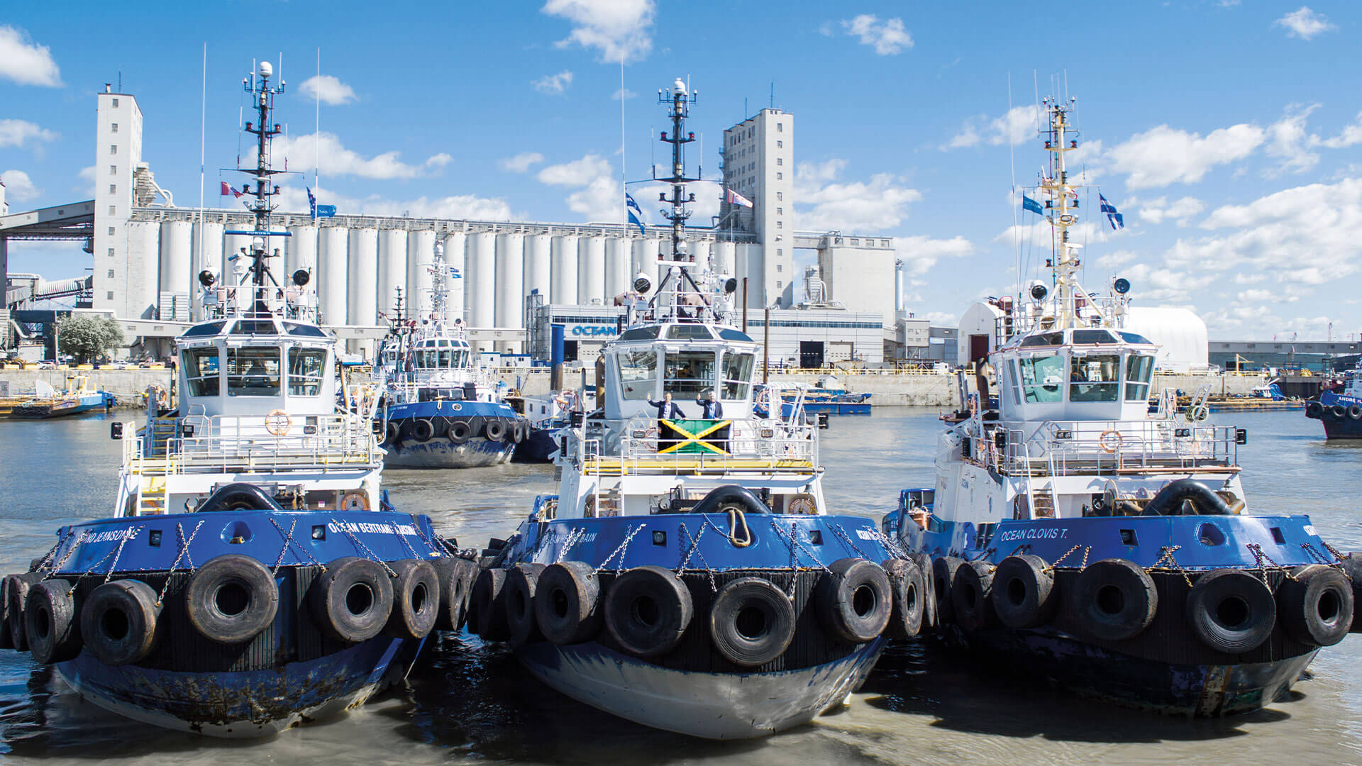 Ocean signed a 10-year contract with the port of Kingston, Jamaica, for harbour towage services.
