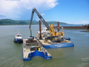 Dragage_fleuve_Quai_STQ_Ocean_barge_bateau_grue_20090617_001