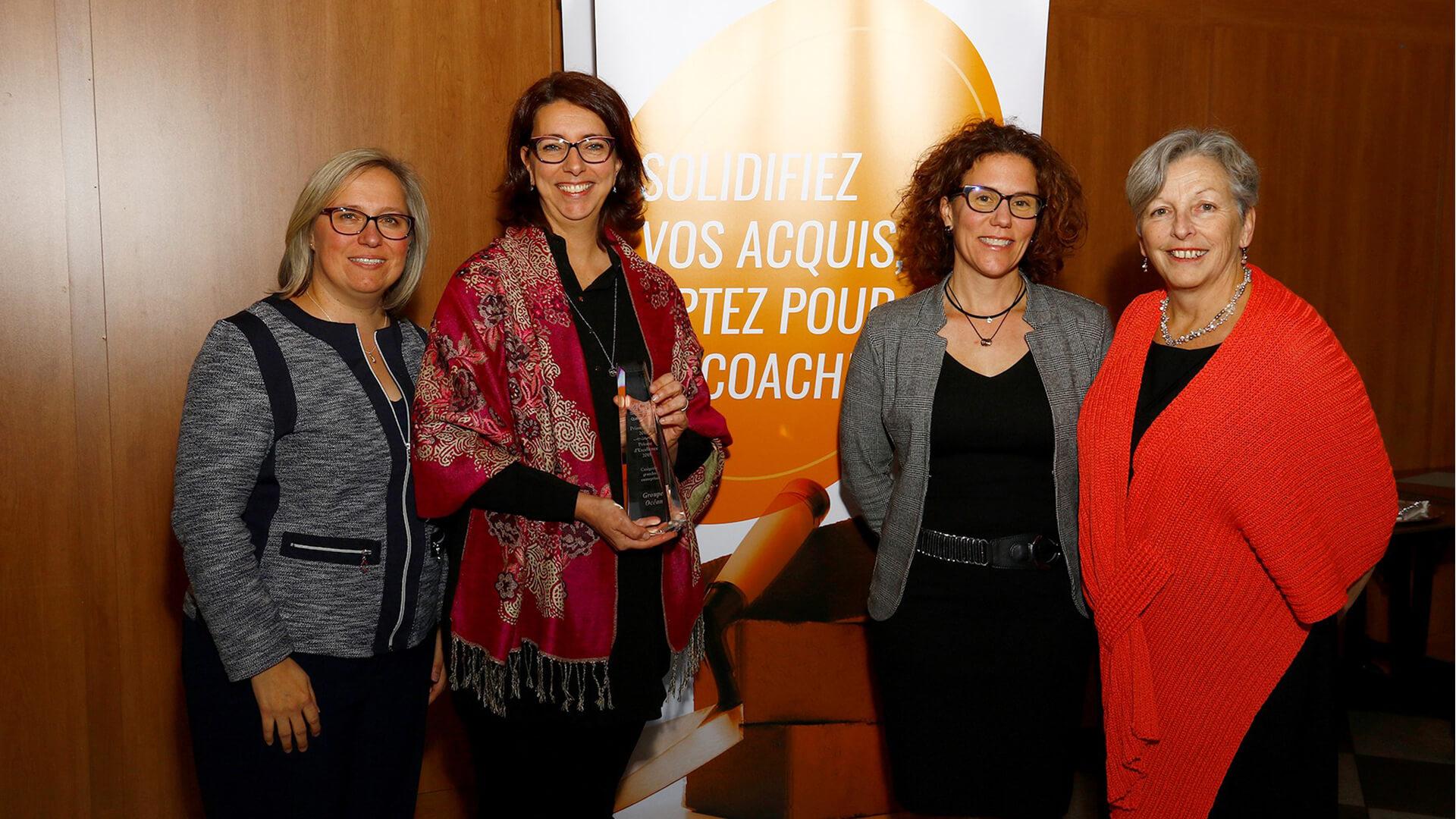 Winner - PRISM AWARD - ICF Québec