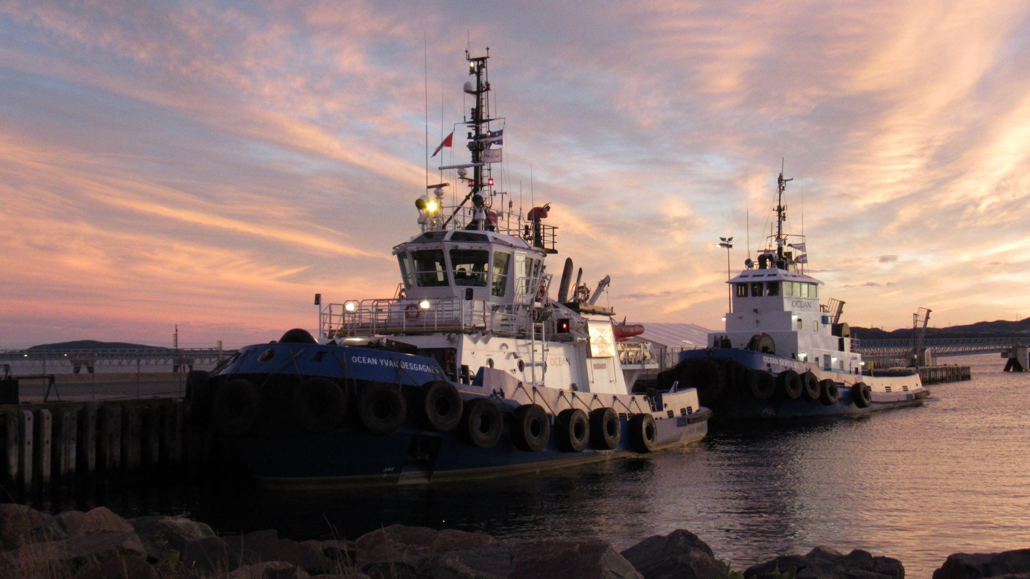 Reprise des activités de remorquage portuaire à Port-Cartier