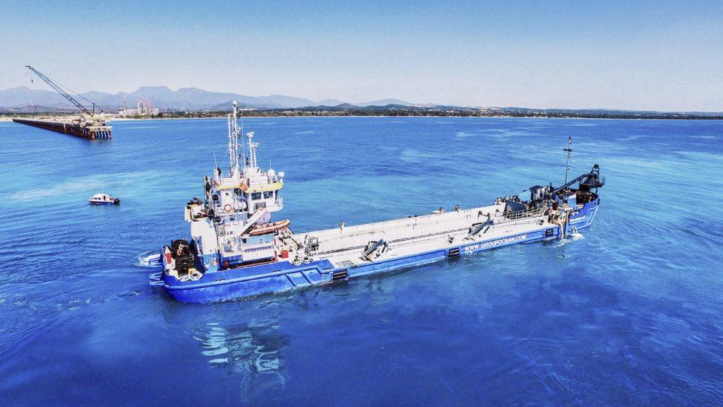 Dragage_Punta_Catlina_caraibes-groupe-océan