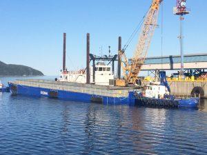 Dragage_barge_fleuve_grue_Ocean_bateau_alcoa_2017_001