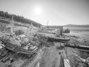 Réparation navale et industrielle - Chantier naval de Charlevoix