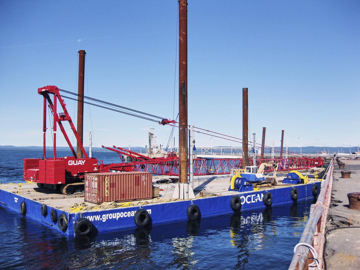 Barge Rental, Workboat & Marine Equipment in Canada | Ocean