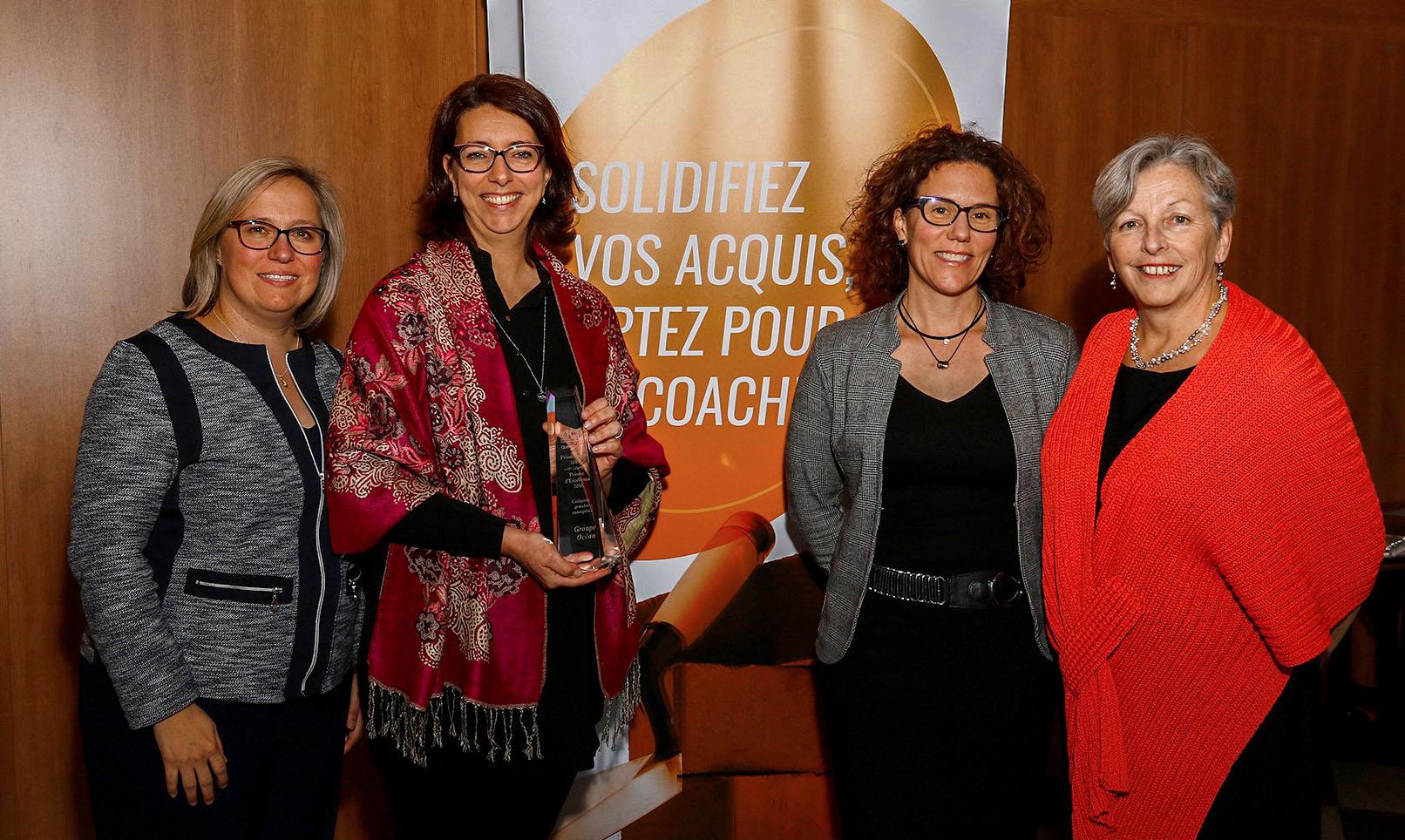 Gagnant – PRISME D'EXCELLENCE 2018 - ICF Québec