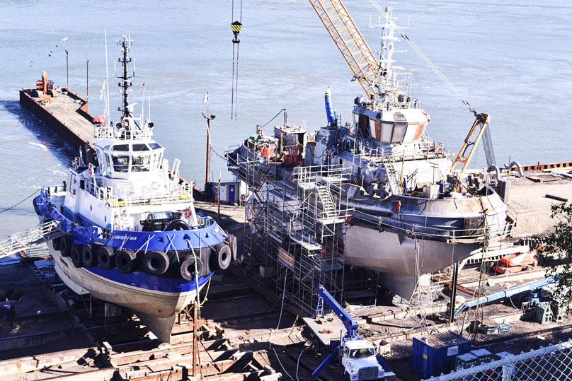 Reparation_navale_remorqueur_Ocean-Tundra_07242013_Isle_aux_Coudres2