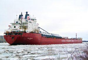 Entretien hivernal Navire CSL