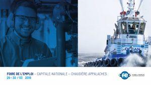Groupe Océan à la Foire de l'emploi – Capitale-Nationale – Chaudière-Appalaches - Québec