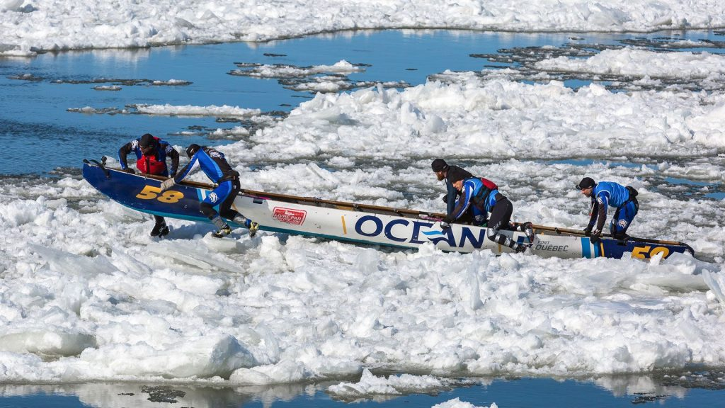 Groupe Océan fier partenaire des courses en canot Montréal | Québec | Isle-aux-Coudres