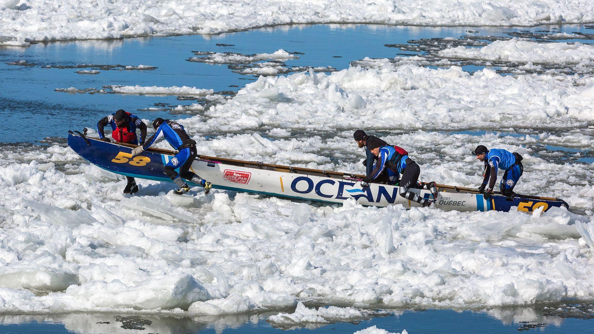 Ocean Group proud partner of the canoe races Montréal | Québec | Isle-aux-Coudres