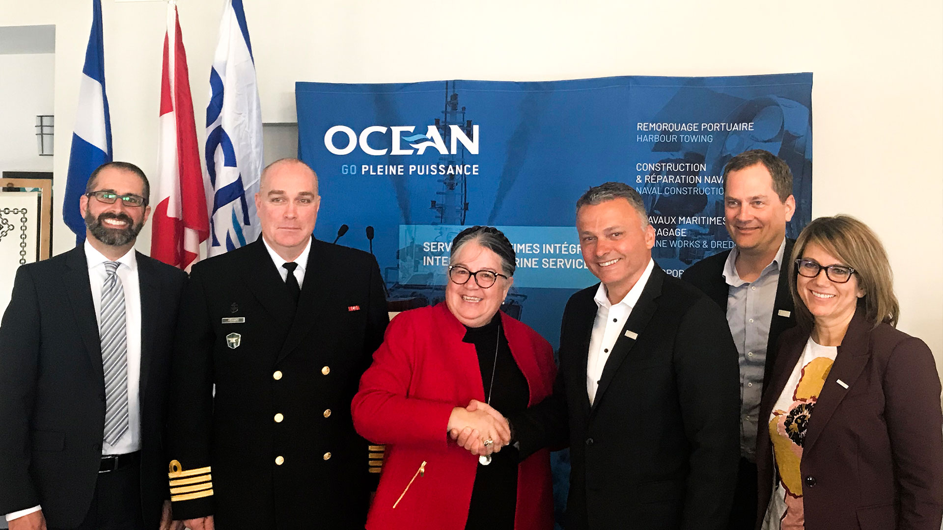 Awarded the Largest Shipbuilding Contract in Ocean Industries Inc.'s History by the Government of Canada | National Defence