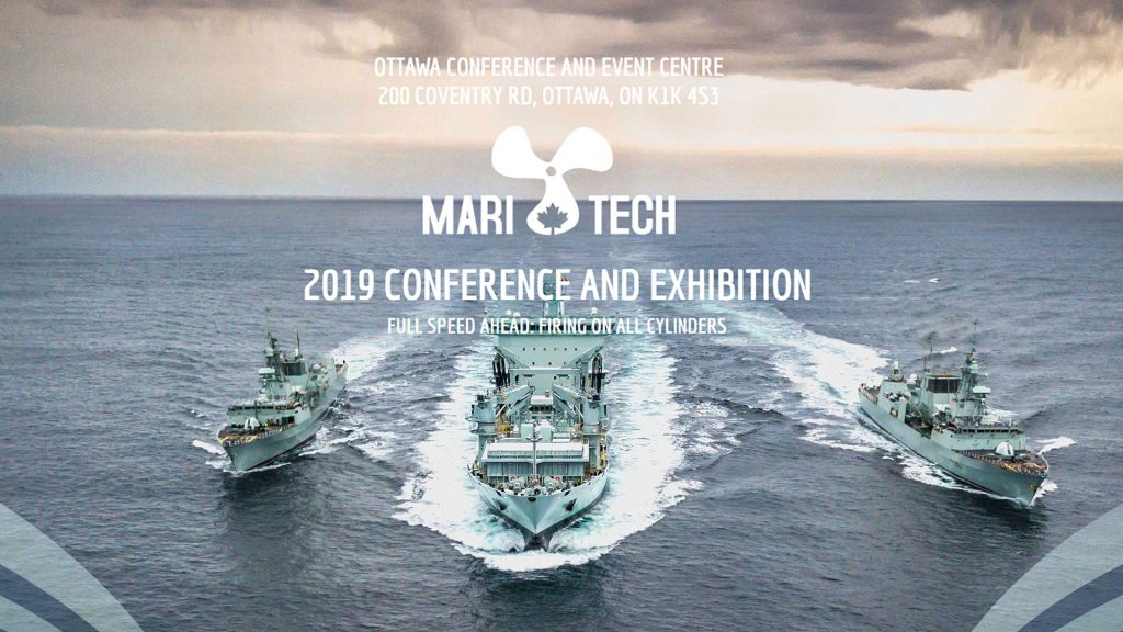 Groupe Océan à la conférence Mari-Tech 2019 | Ottawa