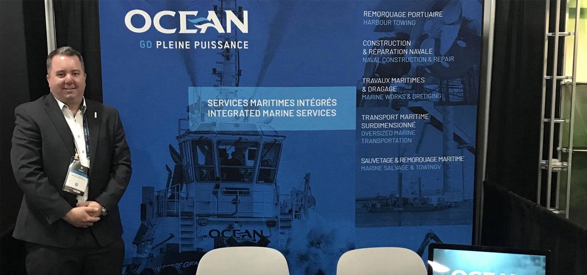 Groupe Océan présent à CANSEC 2019