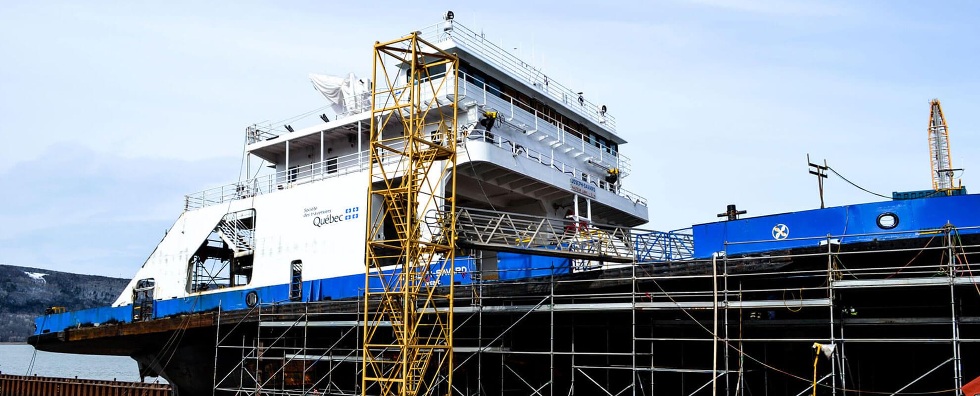 Important projet de 29 millions pour la modernisation du traversier NM Joseph-Savard