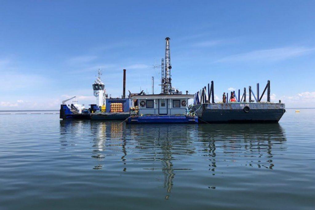 TRAVAUX MARITIMES OCEAN SIGNE UN IMPORTANT CONTRAT AVEC HYDRO-QUÉBEC
